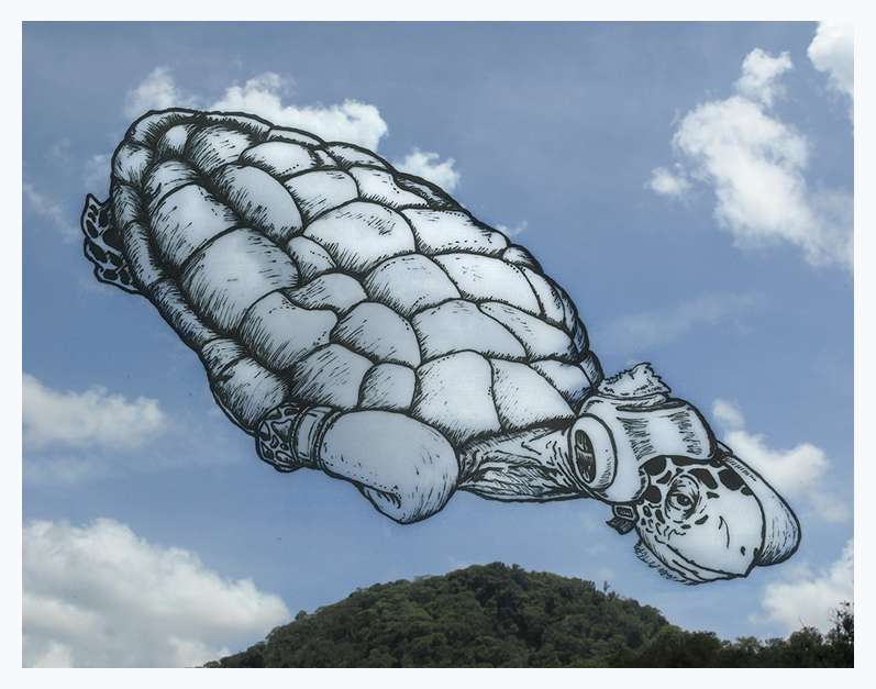 Artist Turns Clouds into Funny Illustrations of Objects, Faces and Animals