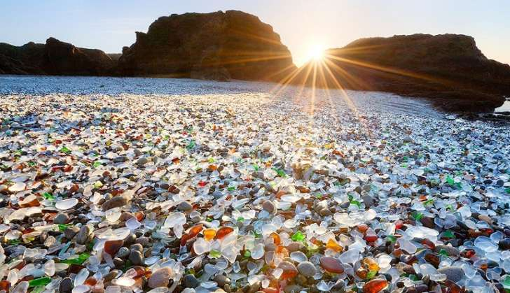 glass beach califronia